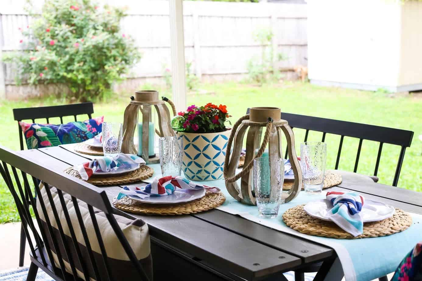 Patio Decorating Ideas + Outdoor Hosting Tips // Love ...