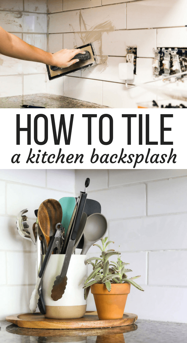 How To Tile A Kitchen Backsplash With Subway