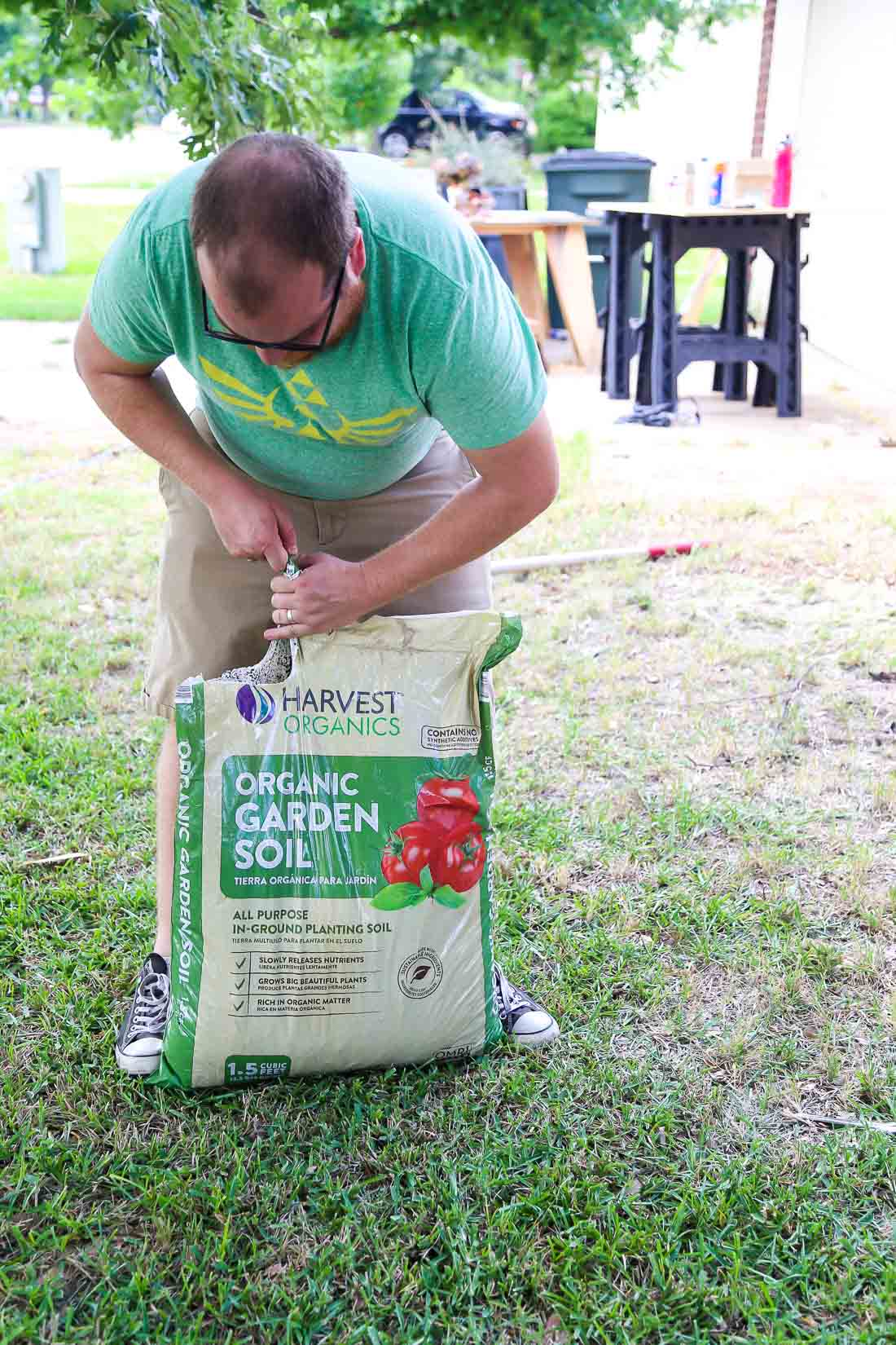 Harvest Organic Gardening Soil - front yard landscaping ideas