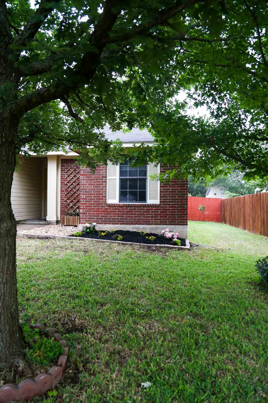 Front Yard Landscaping Ideas Our Simple Flower Bed Makeover