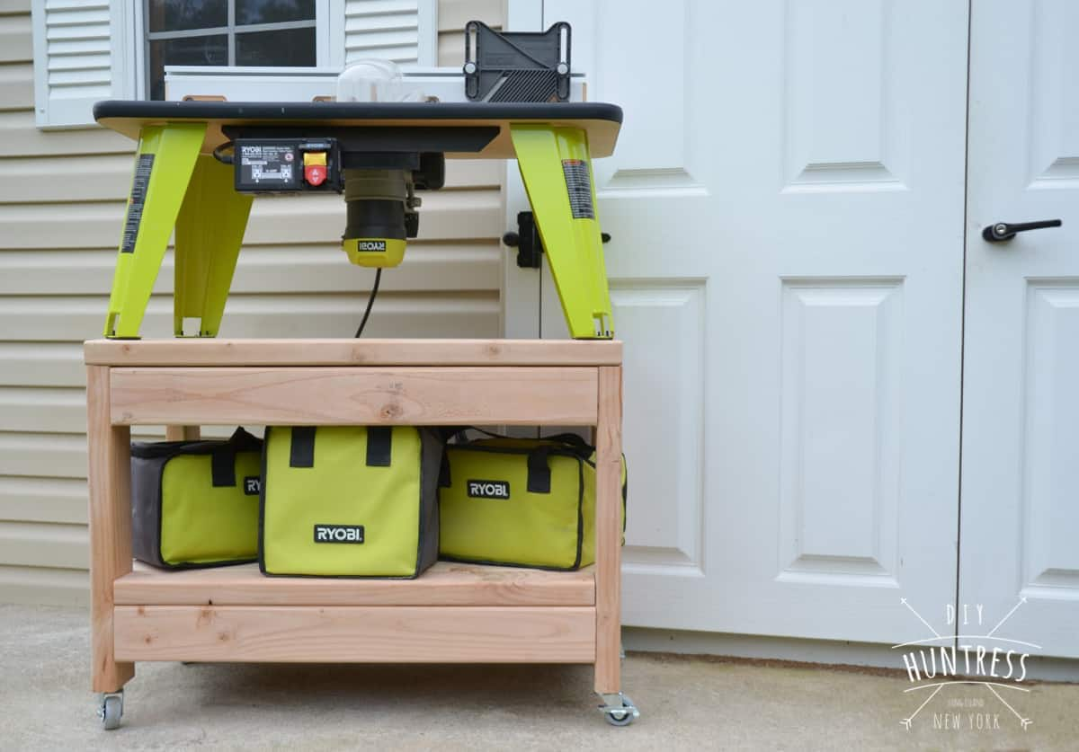 rolling workbench organization