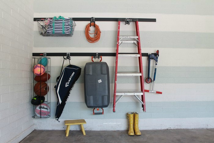 easy garage organization - tool organization ideas
