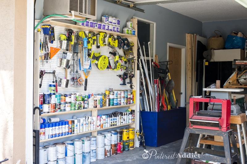garage organization - tool organization ideas