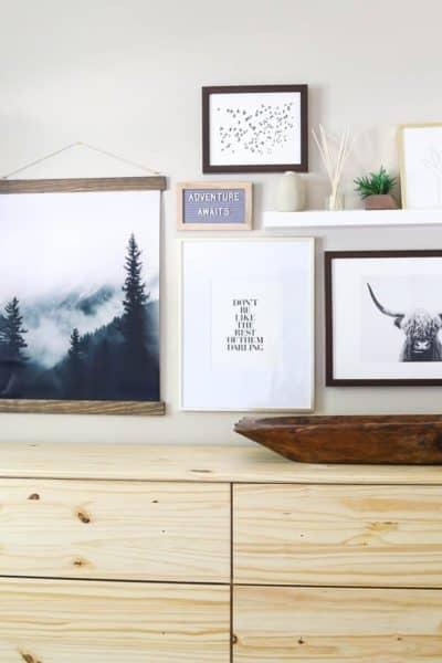 DIY gallery wall ideas