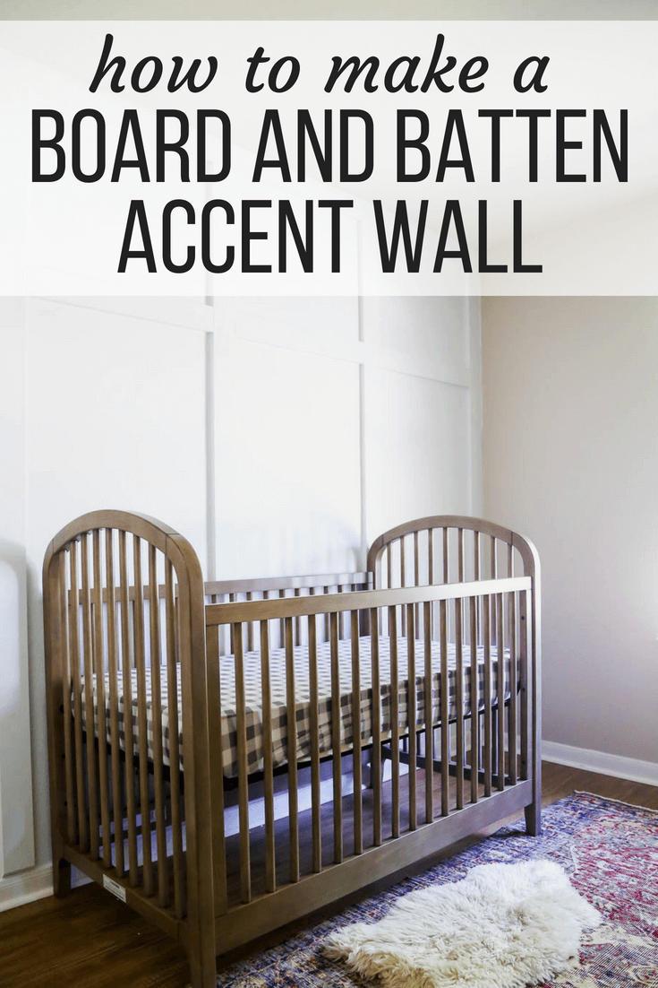 how to make a board and batten accent wall