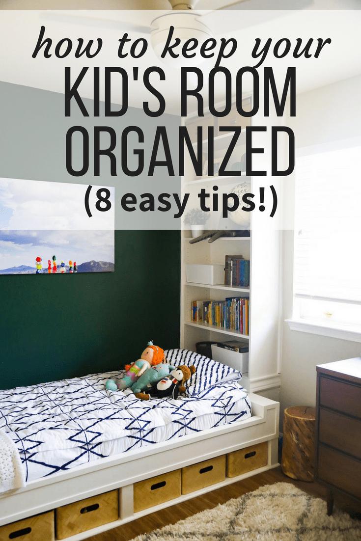 kids room organization tips