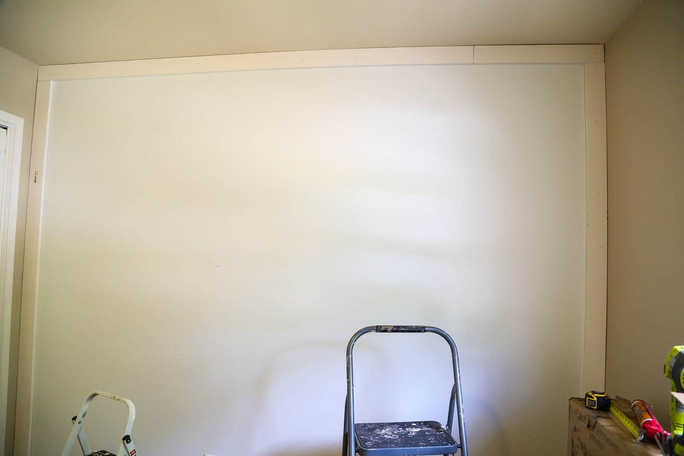 DIY board and batten wall