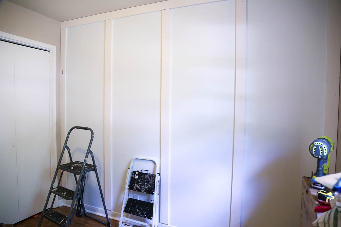 How to Install a Board and Batten Wall - Love & Renovations