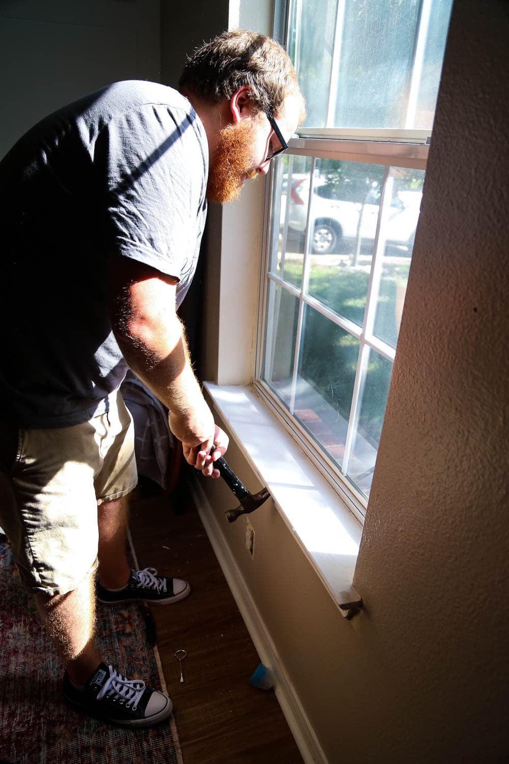 tips for trimming a window