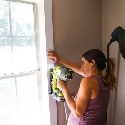 how to install DIY window trim