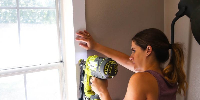 how to install DIY window trim