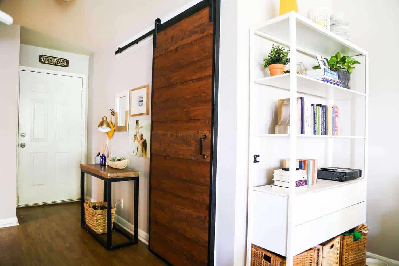 laundry room barn door