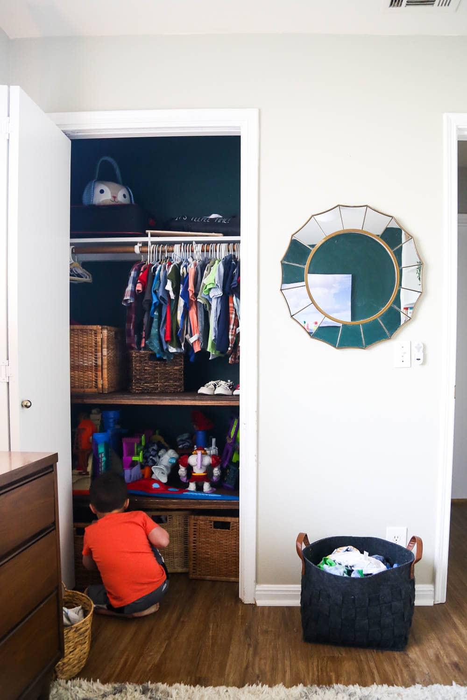 kids' room organization ideas