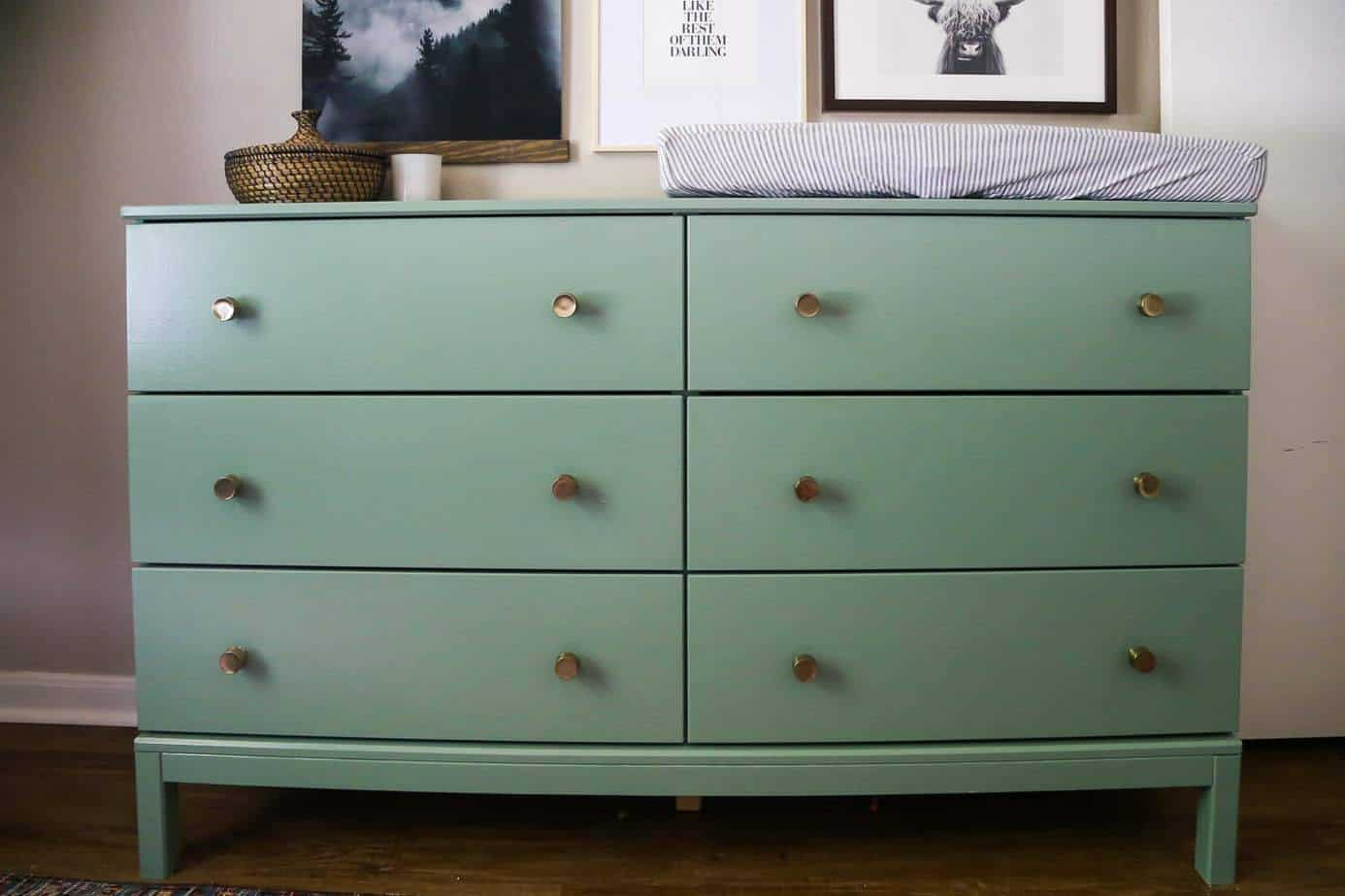 Ikea Tarva Dresser Hack From Dresser To Changing Table Love