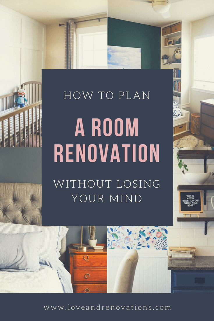 how to plan a room renovation