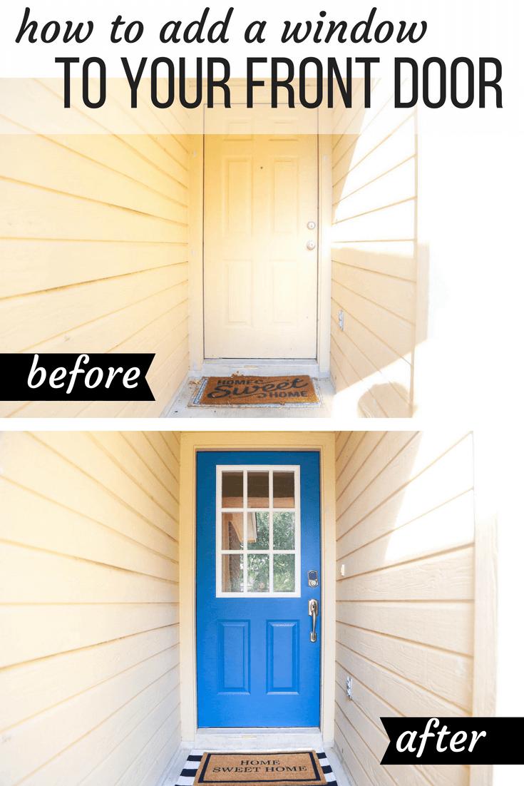 how to renovate a front door