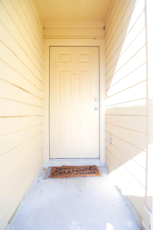 front door ideas - how to add a window