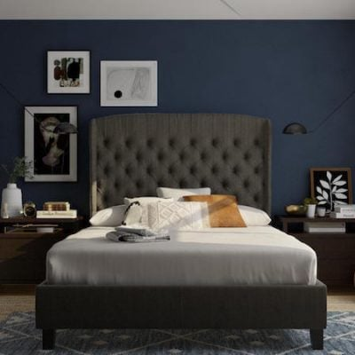 Modsy master bedroom design