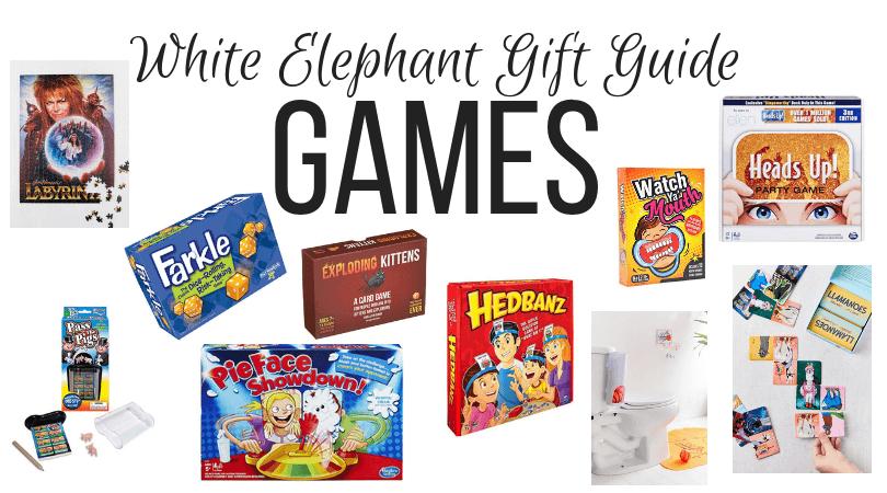 White Elephant games ideas
