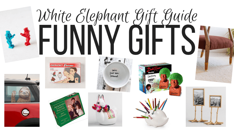 funny white elephant gift exchange ideas