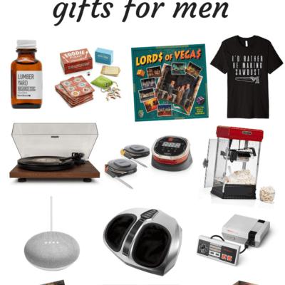 2018 gift guide for men