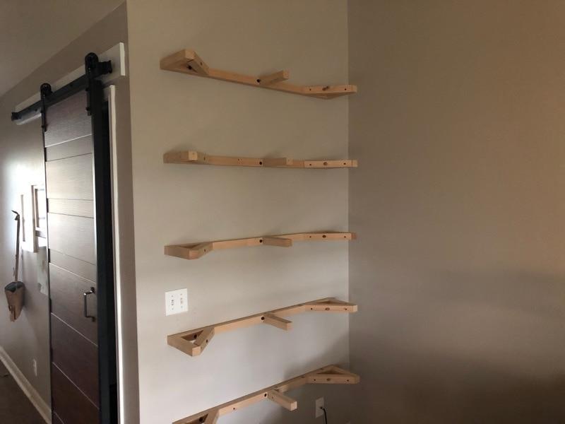 frames for floating shelves