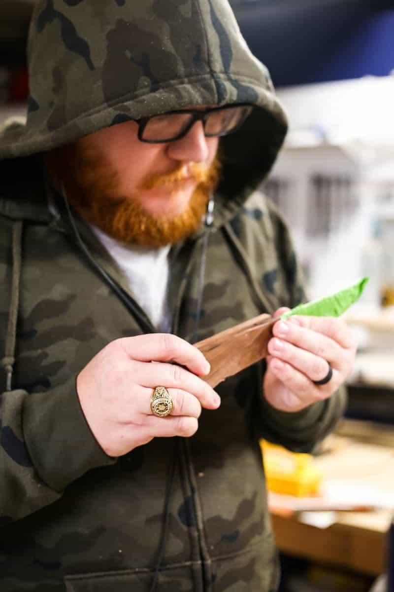 making diy knife