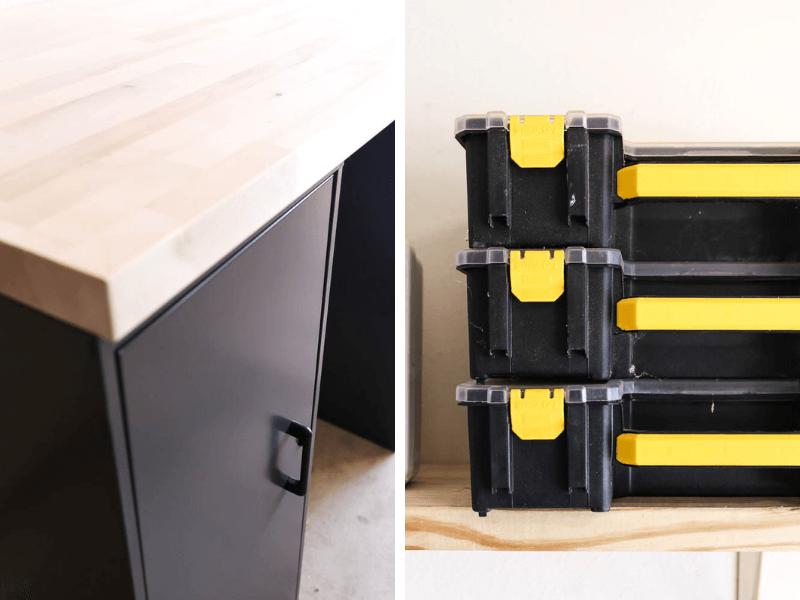 details of organization storage cabinets