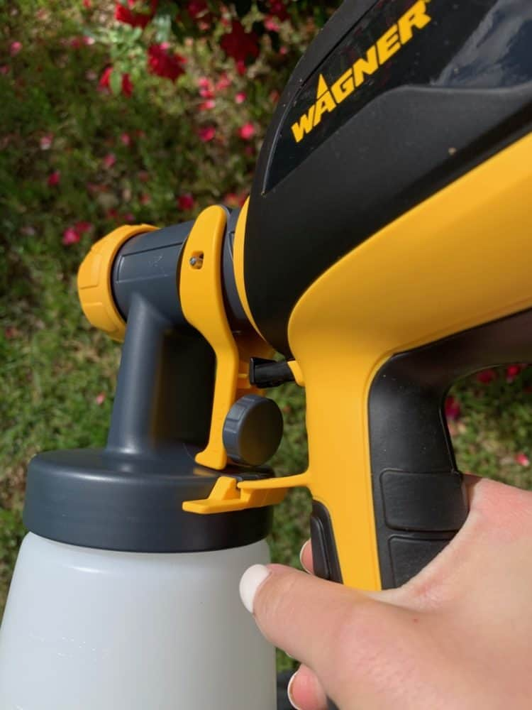 how to adjust settings on paint sprayer