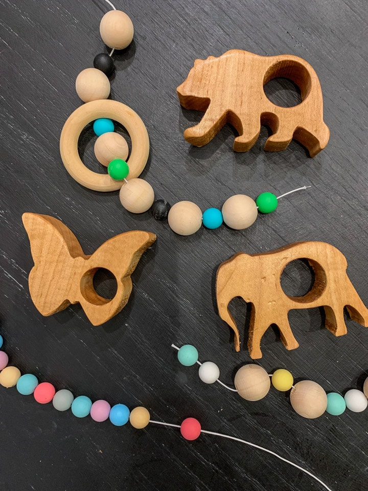 Assembly of DIY baby teethers
