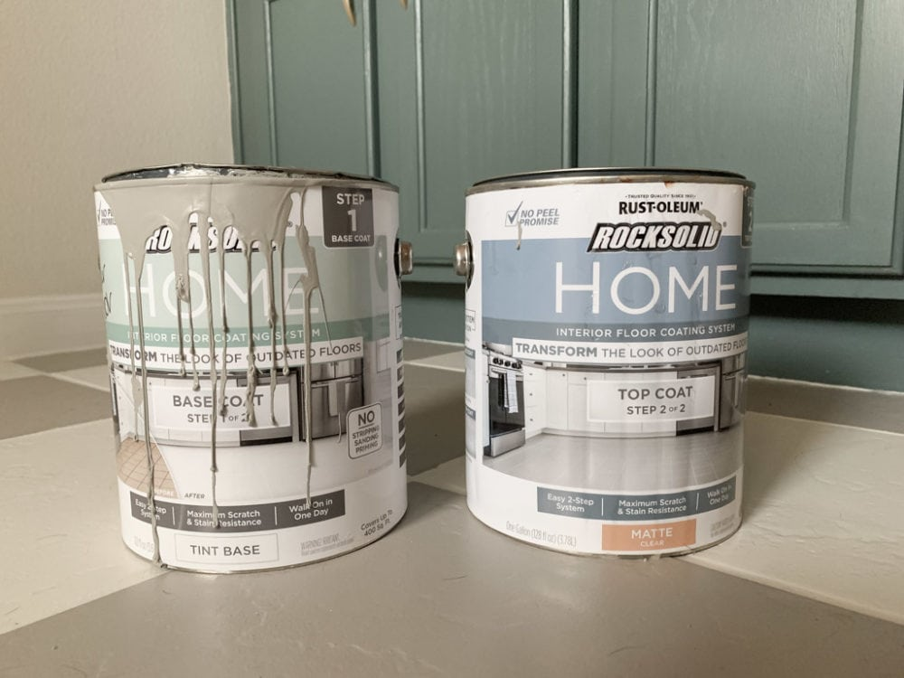 Rust-Oleum Rock Solid Home paint