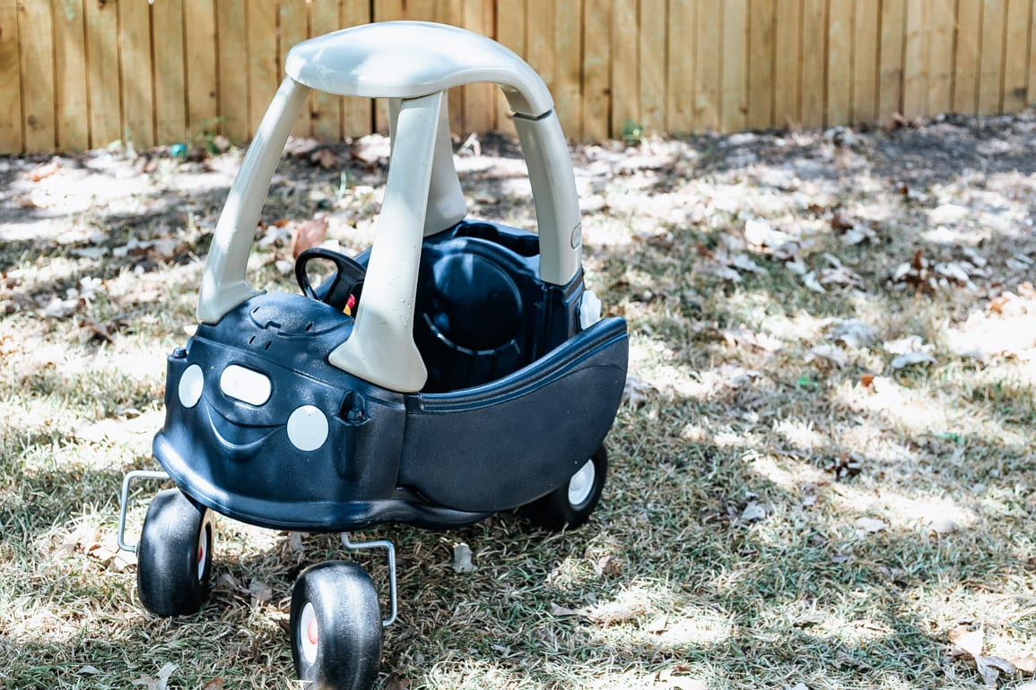 Our Little Tikes Cozy Coupe Makeover Love Renovations