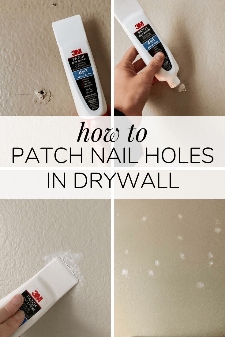How To Patch Nail Screw Holes In Your Walls Love Renovations