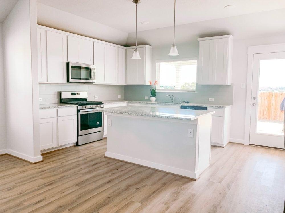 new home kitchen tour