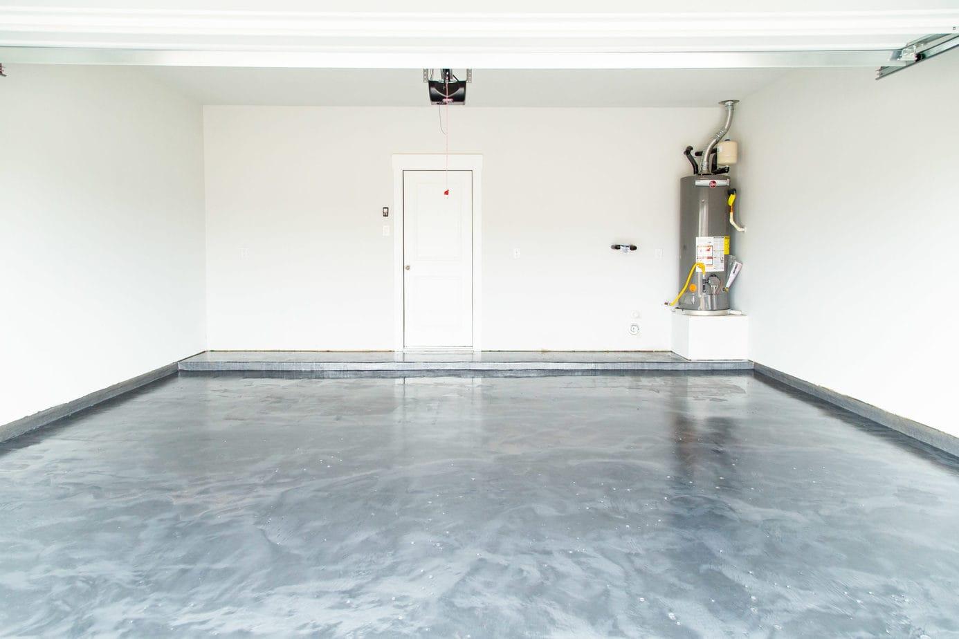 Our Diy Rust Oleum Rocksolid Garage Floor Love Renovations