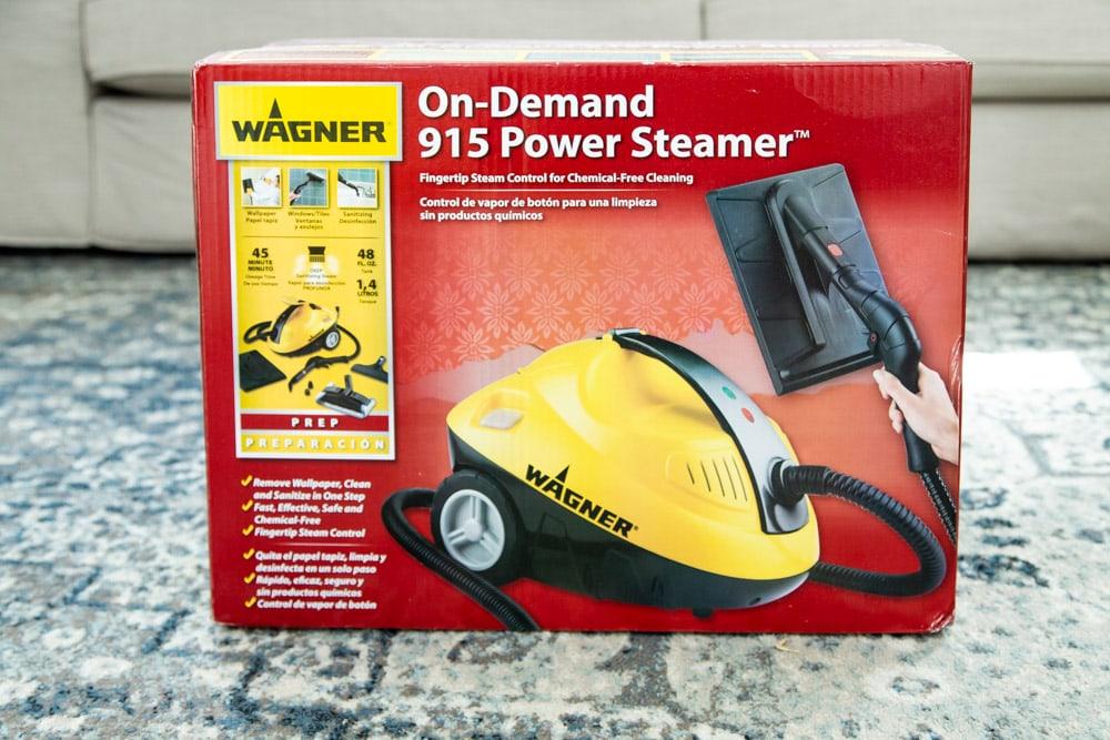 Wagner power steamer box