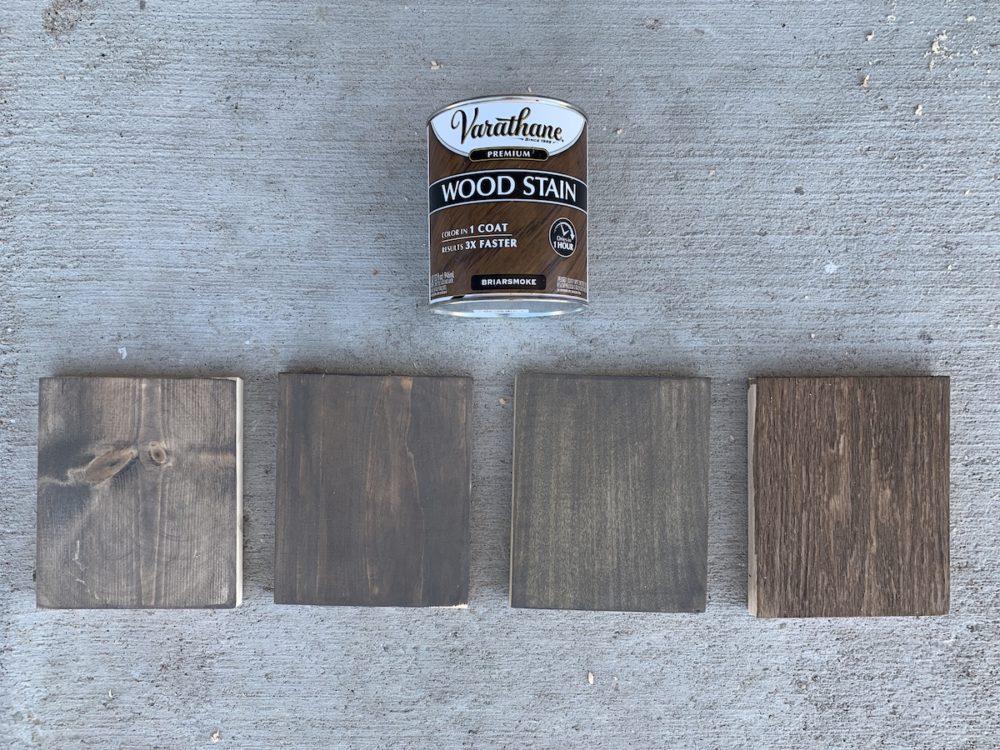 briarsmoke stain samples