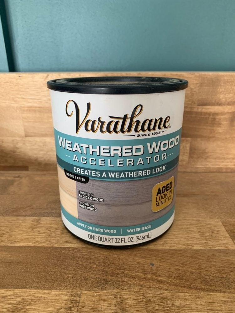 weathered wood accelerator
