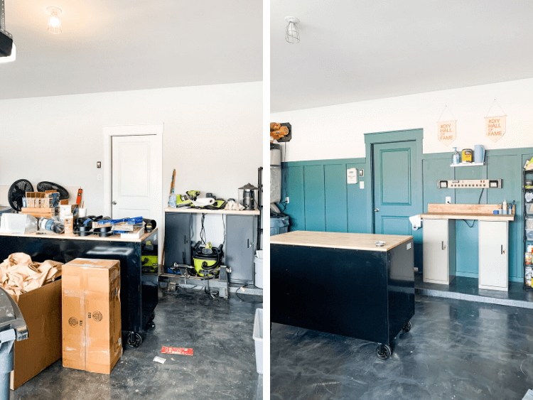 before and after of workshop organization