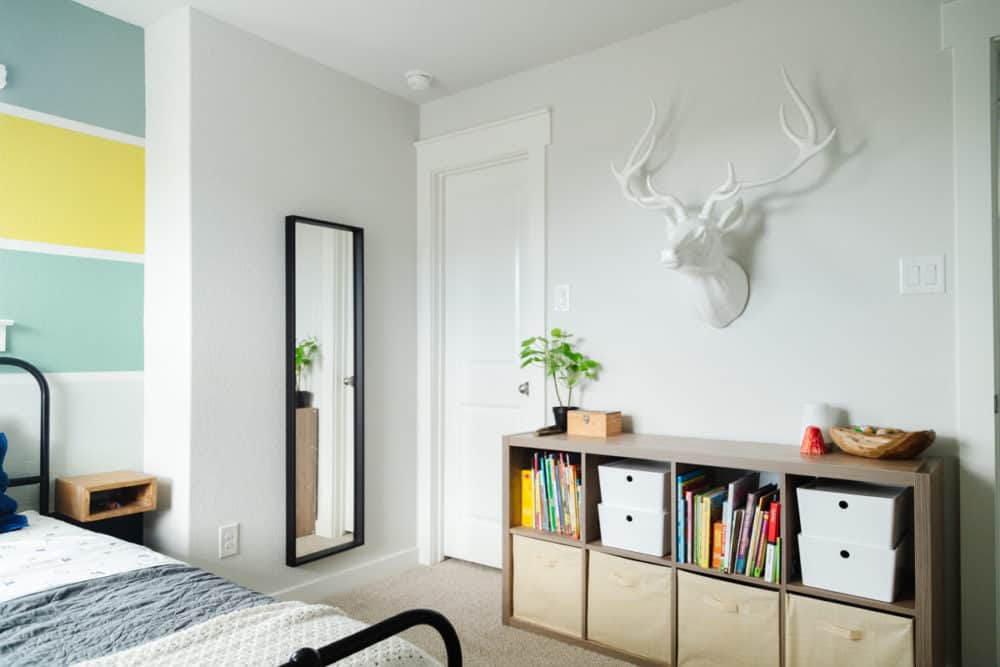A bold, fun, and colorful kids room